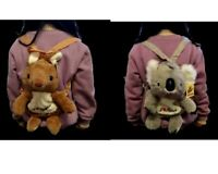 Australian Souvenir Kids Toddler's Backpack Shoulder Bag Koala/Kangaroo