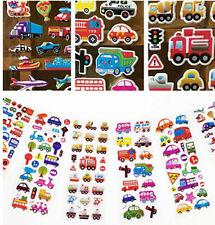 3D Children Stereoscopic Puzzle Stickers Lot Of 6 pcs Kid Birthday handmade gift