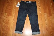 NWT Womens DKNY JEANS Skinny Crop Soho Dark Wash Jeans Size 8
