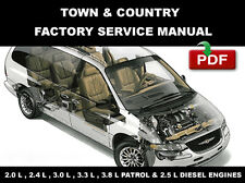 CHRYSLER TOWN & COUNTRY 1996 1997 1998 1999 2000 SERVICE REPAIR WORKSHOP MANUAL