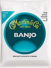 Martin V720 Vega 4-String Tenor Banjo strings, 9-30