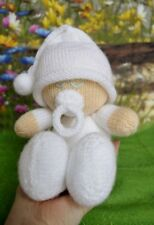 EASY KNIT BABY DOLL TOY KNITTING PATTERN INSTRUCTIONS TO MAKE YOURSELF KBP 261