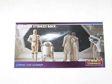 1995 STAR WARS TOPPS WIDEVISION EMPIRE STRIKES BACK PROMO CARDS #P6 SKYWALKER!