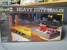 Revell of Germany 7533 Heavy Duty Tri-axle Trailer with winches & ramps.  1/25