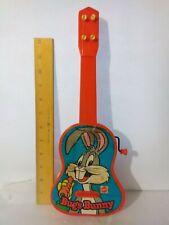 Vintage Warner Bros 1977 Mattel Bugs Bunny Ge-Tar toy musical guitar