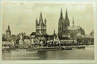 Ansichtskarte 1942 aus KöLN, frankiert und gelaufen, Dom, St. Martin, Stapelhaus