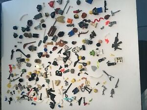 LEGO Lot of 100 MICROFIGURES Mini FIGURES & Accessories Pieces Star Wars Potter