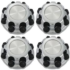 """Center Caps for Select Chevy GMC Truck Van 8 Lugs CHROME (4PCs) 16"""" Wheel Covers"""