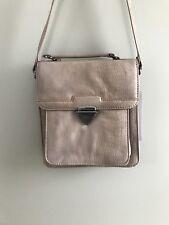 NEW BCBG Paris Light Tan Faux Leather Purse Shoulder Bag