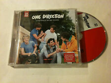 ONE DIRECTION 'Live While We're Young' 2012 EU CD Single & Poster - 2 Tracks