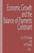 Economic Growth and the Balance-of-Payments Constraint, Thirlwall, A.P., McCombi