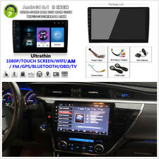 """2 Din Android9.1 9"""" Quad-core 2GB+32GB Car Stereo Radio GPS Player Wifi 3G 4G BT"""