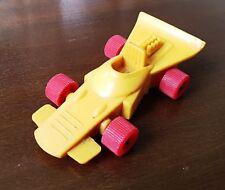 Galanite?? Gummiauto Rennwagen Gelb Rote Räder (A)