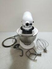 Vintage 10 Speed White Kitchen Aid Mixer