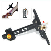 Recurve ABS Arrow Bow Sight Adjustable Archery Hunting Shooting Target Tool
