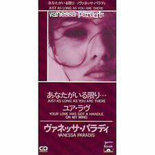 """★☆★ CD SINGLE Vanessa PARADIS Just as long as you are there CD3"""" Japon NEUF ★☆★"""