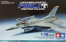 Tamiya 60786 Lockheed Martin F-16CJ (Block 50) Fighting Falcon 1/72 scale kit