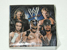 NEW ~WWE WRESTLING~  16-PAPER  DESSERT NAPKINS   PARTY SUPPLIES