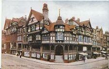Cheshire Postcard - Chester - The Cross   A7278