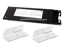 Fiber Optic Splice Tray, 24 Fusion Splices, Multilink 70506K, Aluminum – 3996