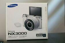 Samsung NX NX3000 20.3MP Digital Camera - Black (Kit w/ 16-50mm PZ Lens)