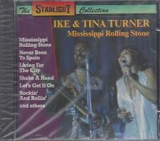 CD ♫ Compact disc «IKE E TINA TURNER MISSISSIPPI ROLLING STONE» Nuovo Sigillato
