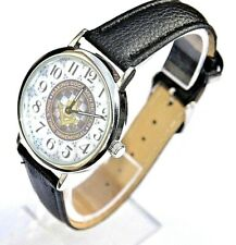 More details for masonic watch gift making good men better superb detail with black strap