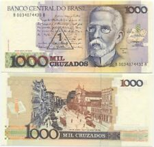 Brazil 1 Cruzado Novo (1000 Cruzados) 1989 UNC, P-216b