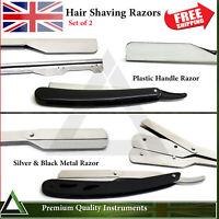 Cut Throat Hair Shaving Razors Straight Edge Folding Pocket Knife Salon Shear