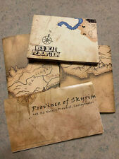 Lot 4 gaming Maps (3) Province of Skyirm and (1) Red Dead Redemption Xbox 360