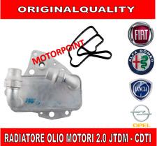 SCAMBIATORE CALORE RADIATORE OLIO - FIAT LANCIA OPEL PEUGEOT SUZUKI 2.0 JTDM CDT