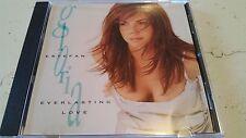 GLORIA ESTEFAN EVERLASTING LOVE 3 TRACK OOP RARE PROMO CD FREE SHIPPING VG+