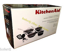 KitchenAid Stainless Steel 10-Piece Culinary Set Cookware Induction Pots Pans