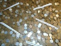 1 POUND,LB,UNSEARCHED, LINCOLN WHEAT CENTS ESTATE LOT COINS, 1909-1958 COPPER