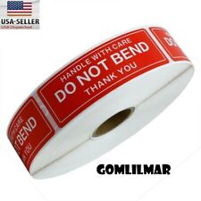 1 Roll 1000 1 X 3 Do Not Bend Stickers Labels Easy Peel And Apply