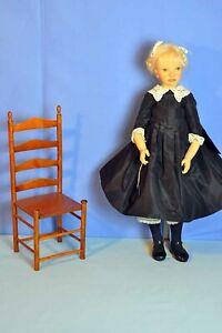 """Rare Orig LE #27/60 Heloise Poupees de Collection 'Delphine' doll 22"""" Marked EX"""