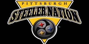 NFL Pittsburgh Steelers Nations Custom Car Truck License Plate New