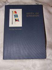 Scarce FIRST 1926 SHIPS of KINGSTON MAss Henry M Jones Signed Holmes Family Copy