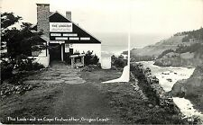 1940s RPPC; The Look-out on Cape Foulweather, Oregon Coast Highway Gift Shop 805