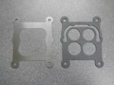 364 401 425 Buick Nailhead Carburetor Gasket & Heat Plate Baffle 57 - 66 Carter