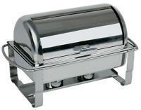 Rolltop Chafing Dish CATERER Edelstahl stapelbar mit GN 1/1 Behälter Gastlando