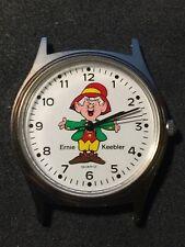 "Vintage Battery Quartz ""ERNIE"" Watch for Keebler Cookie Co. Needs Battery"