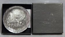 """Wendell August Forge 4 1/2"""" Eagle Plate in Box"""
