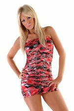 Animal Print Sleeveless Clubwear Stretch, Bodycon Women's Dresses