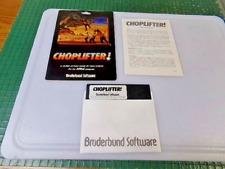 CHOPLIFTER - APPLE II GAME - BROUDERBUND SOFTWARE 1982