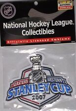 NHL Collectibles 2007 Stanley Cup Finals Patch New In Plastic