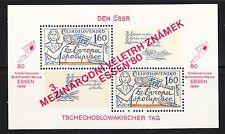 Czechoslovakia 1980 MNH Sc 2334 Mi Block 42 ESSEN Stamps exhibition.LUXUS **
