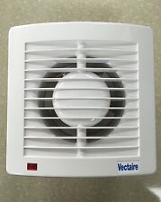 Vectaire AS10T PLUS Timer Extractor Fan Bathroom Kitchen Toilet Ceiling White