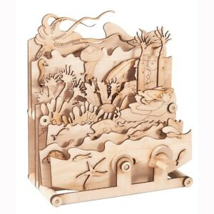 Timberkits Ocean Motion Kit - Wooden Moving Model Self Assembly Construction ...