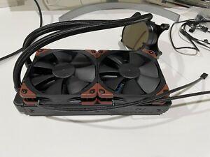 Lightly used NZXT Kraken X52 240mm RGB AIO CPU Liquid Cooler w/Noctua iPPC Fans